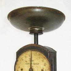 Antigüedades: BASCULA DE COCINA 1930 SALTER HUGHES SCALE 48 , FANTASTICA! DECORACION VINTAGE O INDUSTRIAL. Lote 121679767