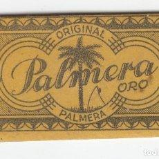 Antigüedades: PALMERA ORO Nº 60 HOJA DE AFEITAR ORIGINAL PALMERA JUAN VOLLMER. 0,70 PTAS MAS EL TIMBRE. Lote 121725583