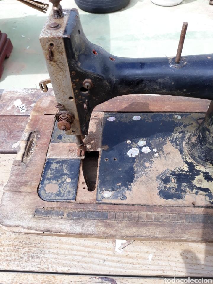 Antigüedades: Maquina de coser - Foto 3 - 121742454