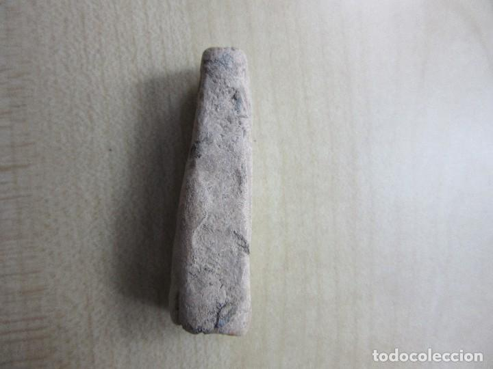 Antigüedades: Pesa o contrapeso de plomo probablemente medieval o anterior - Foto 3 - 121749647