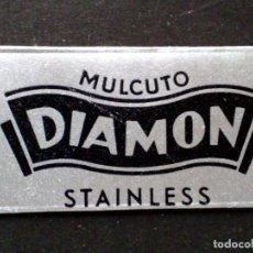 Antigüedades: HOJA DE AFEITAR ANTIGUA-MULCUTO-DIAMON-STAINLESS-RAZOR BLADE-VINTAGE. Lote 121848519