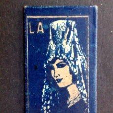 Antigüedades: HOJA DE AFEITAR ANTIGUA-LA ANDALUZA-INSUPERABLE-Nº1-RAZOR BLADE-VINTAGE. Lote 121849303