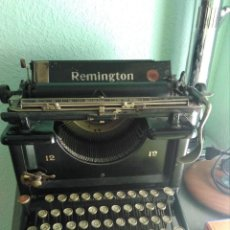 Antigüedades: ANTIGUA MAQUINA DE ESCRIBIR REMINGTON Nº 12 - MADE AT ILION NEW YORK USA - CIRCA 1920. Lote 121855407