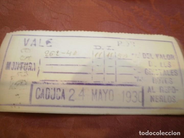 Antigüedades: ANTIGUAS GAFAS DE PASTA. J. GANZER. BARCELONA - Foto 6 - 121905347