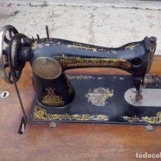 Antiquitäten - MAQUINA DE COSER SINGER CON MUEBLE ORIGINAL - 121979767