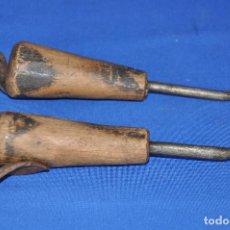 Antigüedades: BISELADORES DE GUARNICIONERO.. Lote 122084579