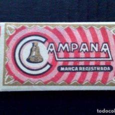 Antigüedades: HOJA DE AFEITAR ANTIGUA-CAMPANA-ESPECIAL BARBA DURA-VINTAGE. Lote 96290603