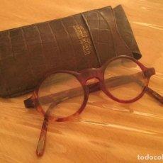 Antigüedades: ANTIGUAS GAFAS PASTA GRADUADAS. Lote 122138667