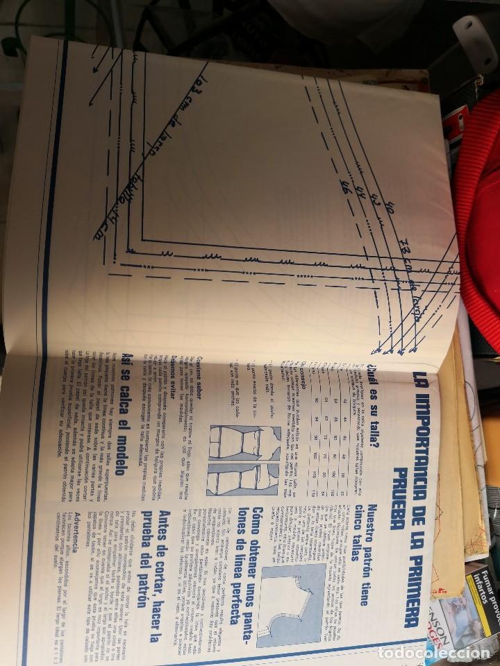 lote 10 patrones en papel para costuras varias. - Comprar Máquinas ...