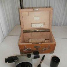 Antigüedades: NIVEL OPTICO TOPOGRÁFICO, TEODOLITO, ASKANIA WERKE AG BAMBERG WERK Nº 531643. Lote 122180567