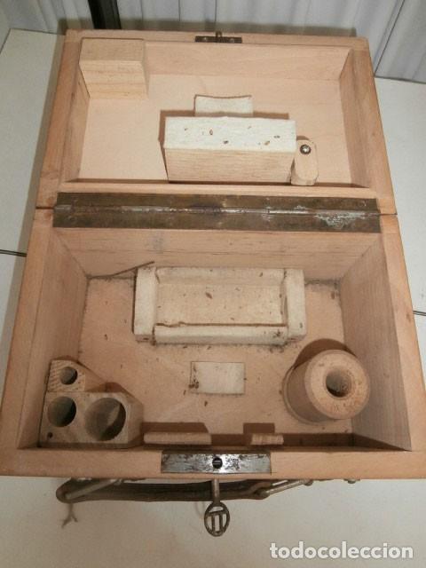 Antigüedades: NIVEL OPTICO TOPOGRÁFICO, TEODOLITO, ASKANIA WERKE AG BAMBERG WERK nº 531643 - Foto 9 - 122180567