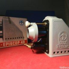 Antigüedades: EPISCOPIO PROYECTOR DUX-EPISCOP 49 FUNCIONANDO. Lote 122194715