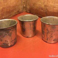 Antigüedades: CURIOSAS MEDIDAS METALICAS, INSCRIPCION 1/2 5 JAPY FRERES, GRAND PRIX. PESAN UNOS 140G . VER FOTOS. Lote 122208879