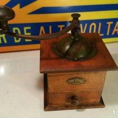 Antigüedades: ANTIGUO MOLINILLO DE CAFE PEUGEOTE FRERES - MUY BUEN ESTADO. Lote 122209027
