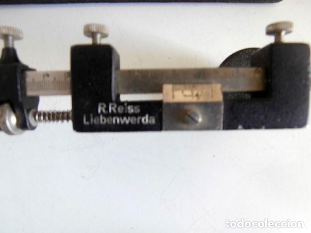 Antigüedades: RARO Y ANTIGUO INSTRUMENTO TOPOGRÁFICO R.REISS LIEBENWERA - Foto 4 - 122237683
