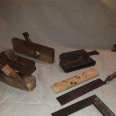 Antigüedades: LOTE HERRAMIENTAS DE CARPINTERO. Lote 122252883