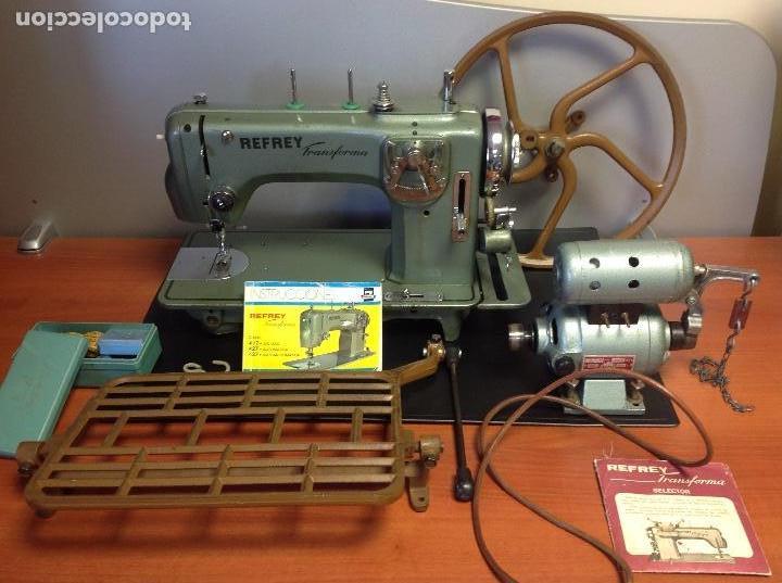 Antigüedades: Máquina de coser Refrey de taller automática y/o manual ..,., - Foto 4 - 122256039