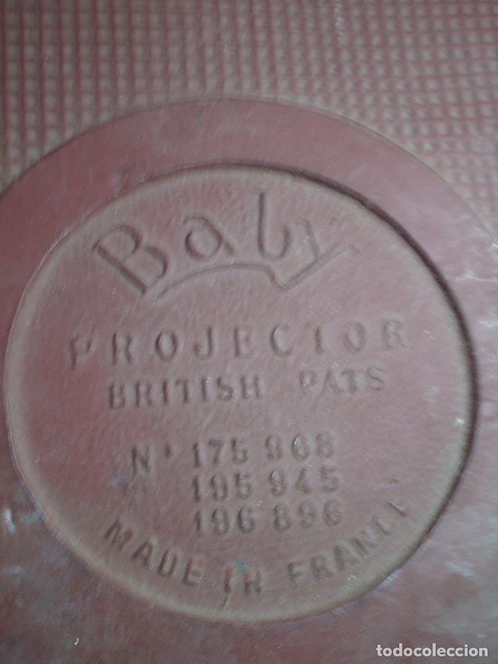 Antigüedades: ANTIGUO PROYECTOR DE CINE S.XIX, MARCA PATHEX- MADE IN FRANCE -BABY BRITISH PATS.COMPLETO,EN SU CAJA - Foto 8 - 122262051