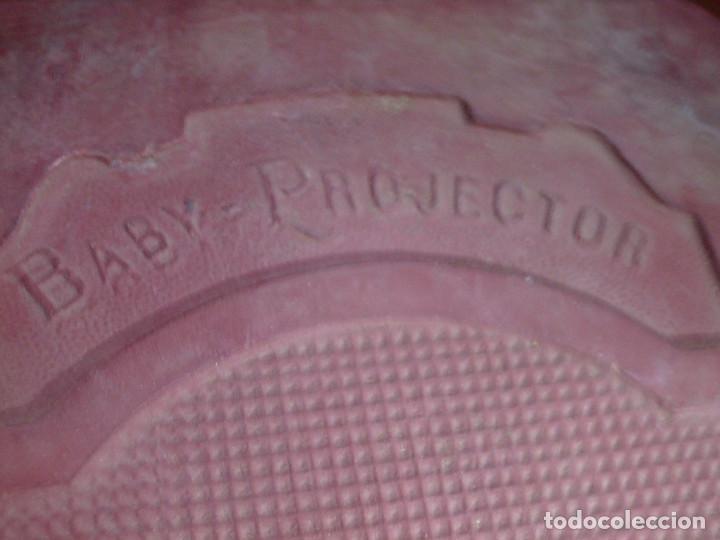 Antigüedades: ANTIGUO PROYECTOR DE CINE S.XIX, MARCA PATHEX- MADE IN FRANCE -BABY BRITISH PATS.COMPLETO,EN SU CAJA - Foto 9 - 122262051