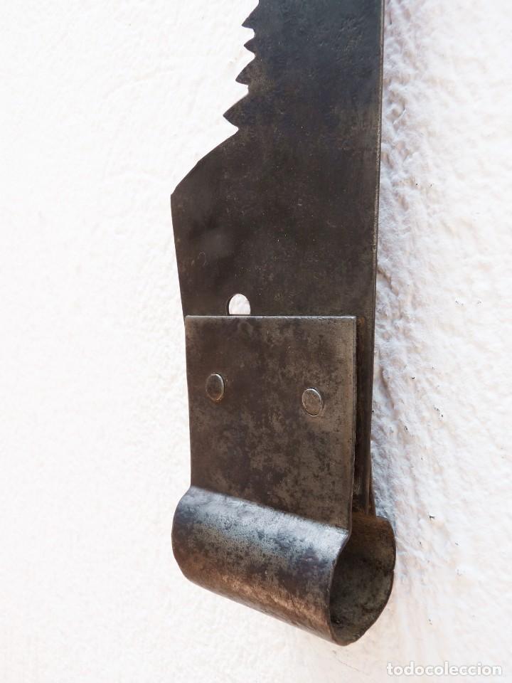 ANTIGUO TRONZADOR SIERRA SERRÓN DE LEÑADOR. 120 CM. (Antigüedades - Técnicas - Herramientas Profesionales - Carpintería )