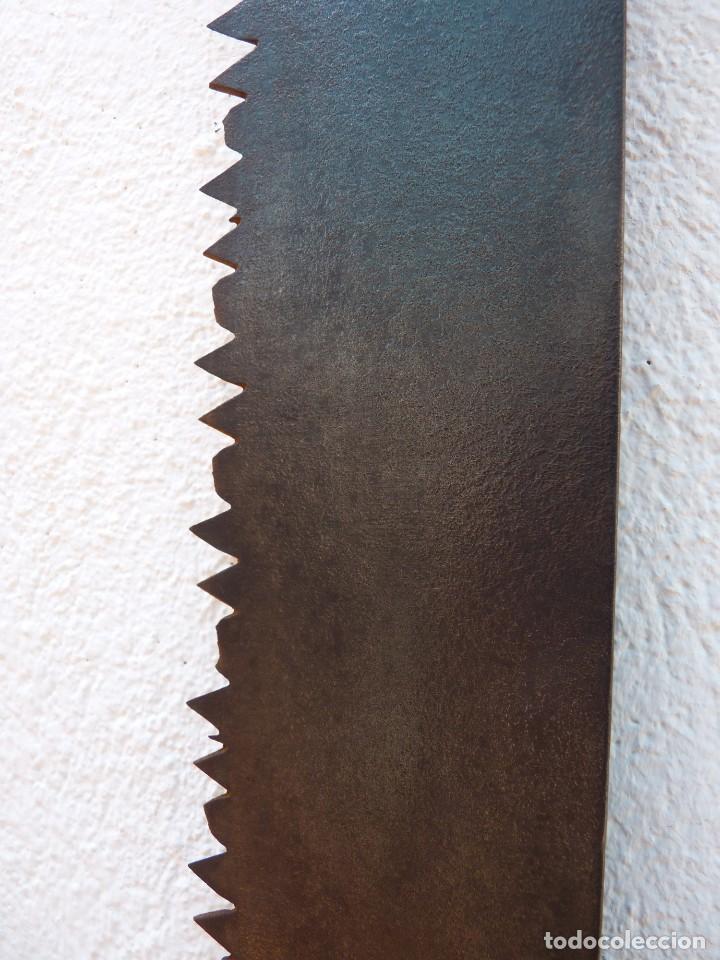 Antigüedades: ANTIGUO TRONZADOR SIERRA SERRÓN DE LEÑADOR. 136 cm. - Foto 2 - 122269719