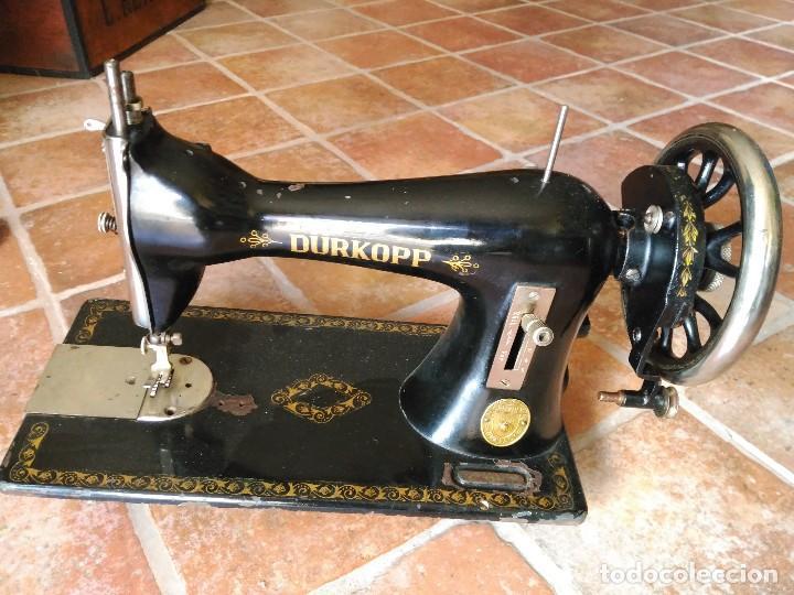ANTIGUA MAQUINA DE COSER DURKOPP (Antiquitäten - Technische - Antike Nähmaschinen - Andere Nähmaschinen)