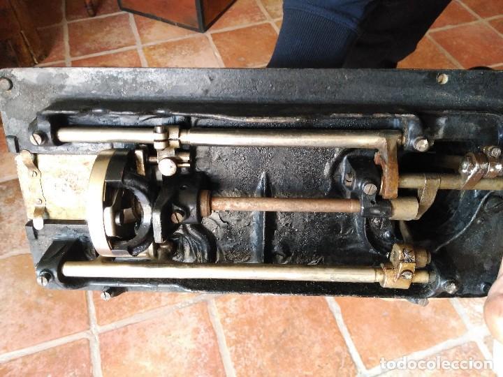 Antiquitäten: Antigua maquina de coser durkopp - Foto 3 - 122480687