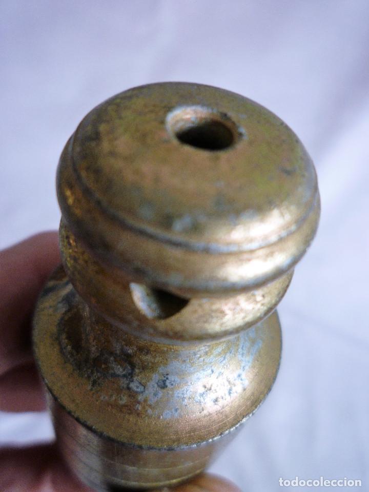 Antigüedades: PLOMADA DE HIERRO - Foto 4 - 122497667