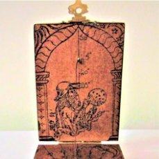 Antigüedades: FABULOSA BRÚJULA ESTILO RENACIMIENTO-CUADRANTE SOLAR EN MADERA - RELOJ DE SOL-SIGLO XIX. Lote 122542971