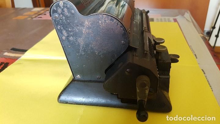 Antigüedades: Calculadora vintage ORIGINAL ODHHNER MOD. 602- 7 Año 1930 - Foto 3 - 122562875