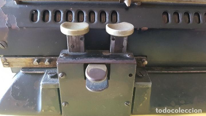 Antigüedades: Calculadora vintage ORIGINAL ODHHNER MOD. 602- 7 Año 1930 - Foto 4 - 122562875
