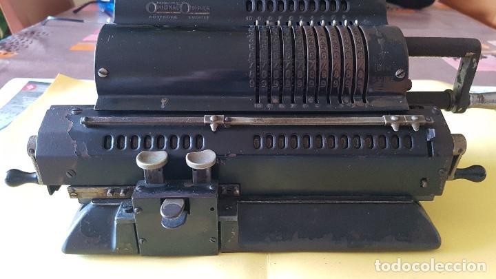 Antigüedades: Calculadora vintage ORIGINAL ODHHNER MOD. 602- 7 Año 1930 - Foto 5 - 122562875