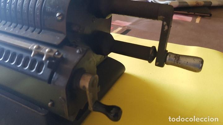 Antigüedades: Calculadora vintage ORIGINAL ODHHNER MOD. 602- 7 Año 1930 - Foto 6 - 122562875
