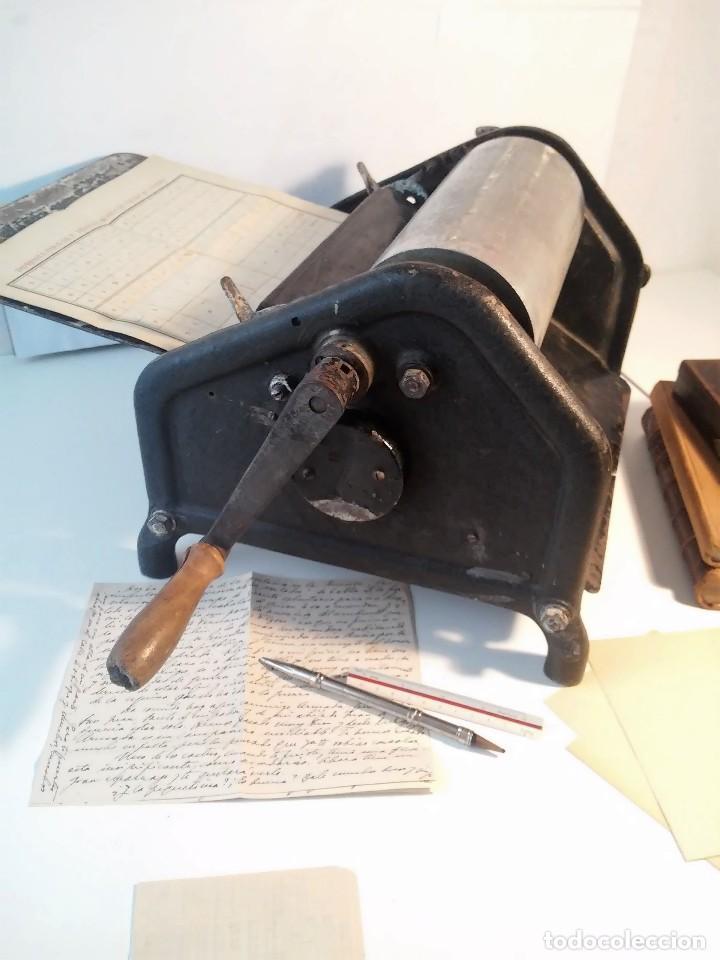 Antigüedades: RARA Y CURIOSA IMPRENTA MULTICOPISTA ORMIG-V. SOLO RECOGIDA LOCAL PINTO (MADRID) - Foto 8 - 122572983