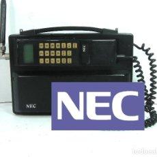 Teléfonos: ANTIGUO TELEFONO MOVIL DE COCHE - NEC TR5E - JAPAN AÑOS 80S 90S MALETA. Lote 122612671