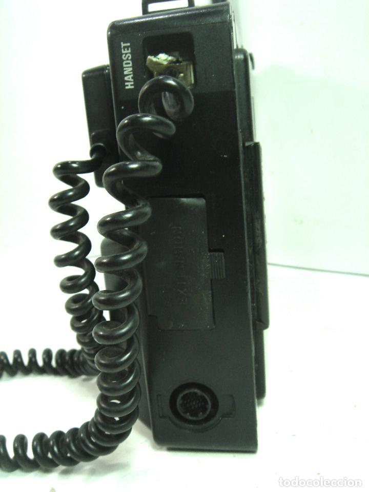 Teléfonos: ANTIGUO TELEFONO MOVIL DE COCHE - NEC TR5E - JAPAN AÑOS 80s 90s MALETA - Foto 3 - 122612671