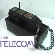 Teléfonos: ANTIGUO TELEFONO MOVIL DE COCHE - BRITISH TELECOM BT - AÑOS 80S 90S PORTATIL MALETA. Lote 122613491