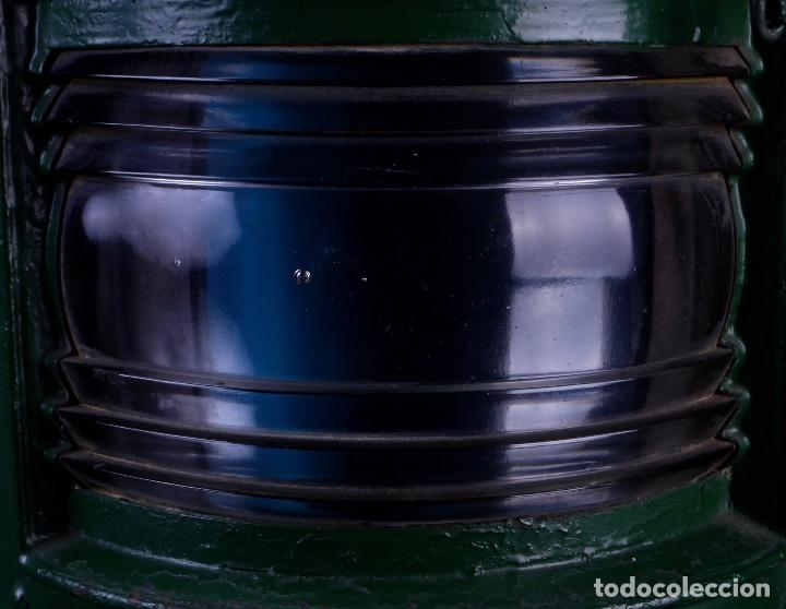 Antigüedades: LAMPARA STARBOARD LUZ DE BANDA DE ESTRIBOR BARCO - Foto 4 - 122650759
