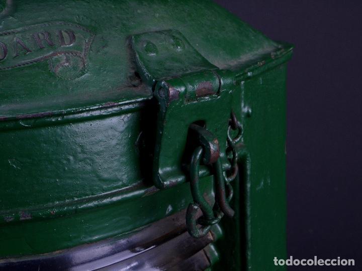 Antigüedades: LAMPARA STARBOARD LUZ DE BANDA DE ESTRIBOR BARCO - Foto 5 - 122650759