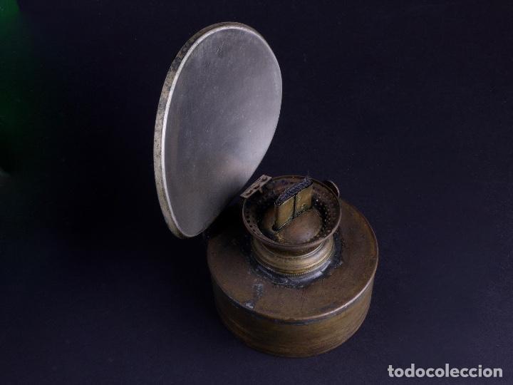 Antigüedades: LAMPARA STARBOARD LUZ DE BANDA DE ESTRIBOR BARCO - Foto 8 - 122650759