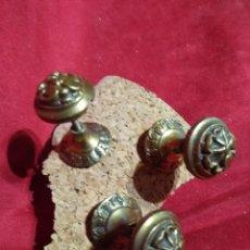 Antigüedades: TIRADORES POMOS PARA MUEBLE ARMARIO CAJONES COLGADOR. Lote 122652451