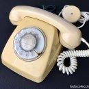 Teléfonos: TELEFONO HERALDO DE SOBREMESA CITESA CTNE MALAGA AMARILLO CREMA VINTAGE BUEN ESTADO. Lote 122672251