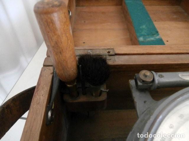 Antigüedades: ANTIGUO TEODOLITO TOPOGRAFICO BREITHAUPT & SOHN KASSEL nº 37427 - Foto 6 - 122682759