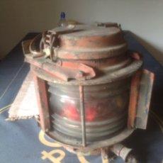 Antigüedades: FAROL DE BARCO SITUACION. Lote 122776118