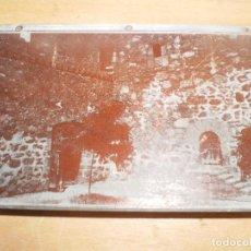 Antigüedades: ANTIGUA PLANCHA DE IMPRESION PUERTA. Lote 122798755