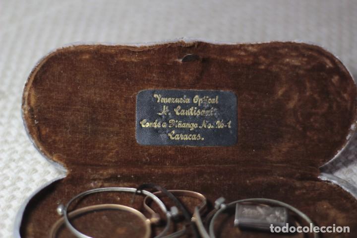 Antigüedades: Antiguo Lentes Oro 18k - Foto 2 - 122833983