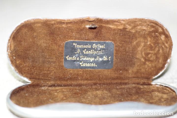 Antigüedades: Antiguo Lentes Oro 18k - Foto 4 - 122833983