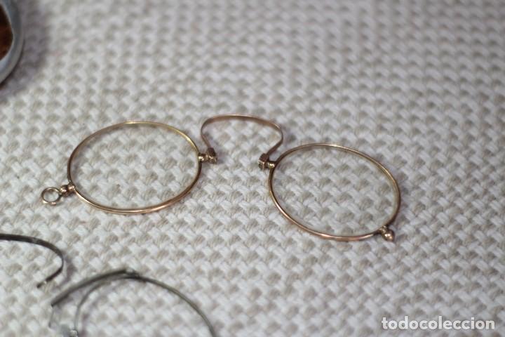 Antigüedades: Antiguo Lentes Oro 18k - Foto 5 - 122833983