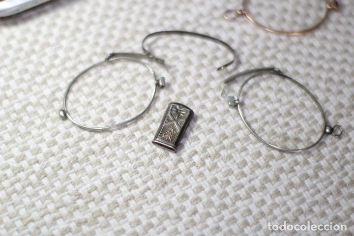Antigüedades: Antiguo Lentes Oro 18k - Foto 7 - 122833983