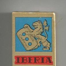 Antigüedades: CAJA 10 HOJAS AFEITAR *IBERIA CEFIRO* SUPERFINA 0,06 MM (PRECINTADA). Lote 122858655